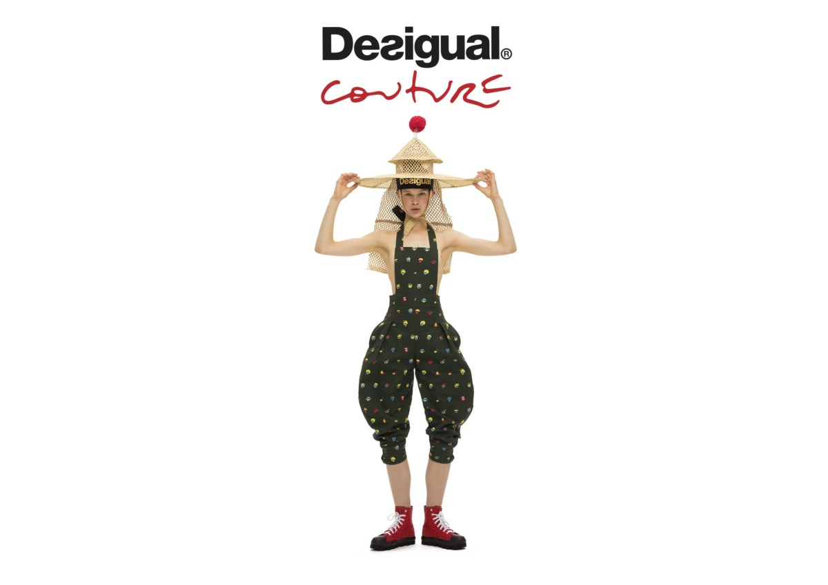 DESIGUAL COUTURE SS18 CAMPAIGN BY JEAN-PAUL GOUDE