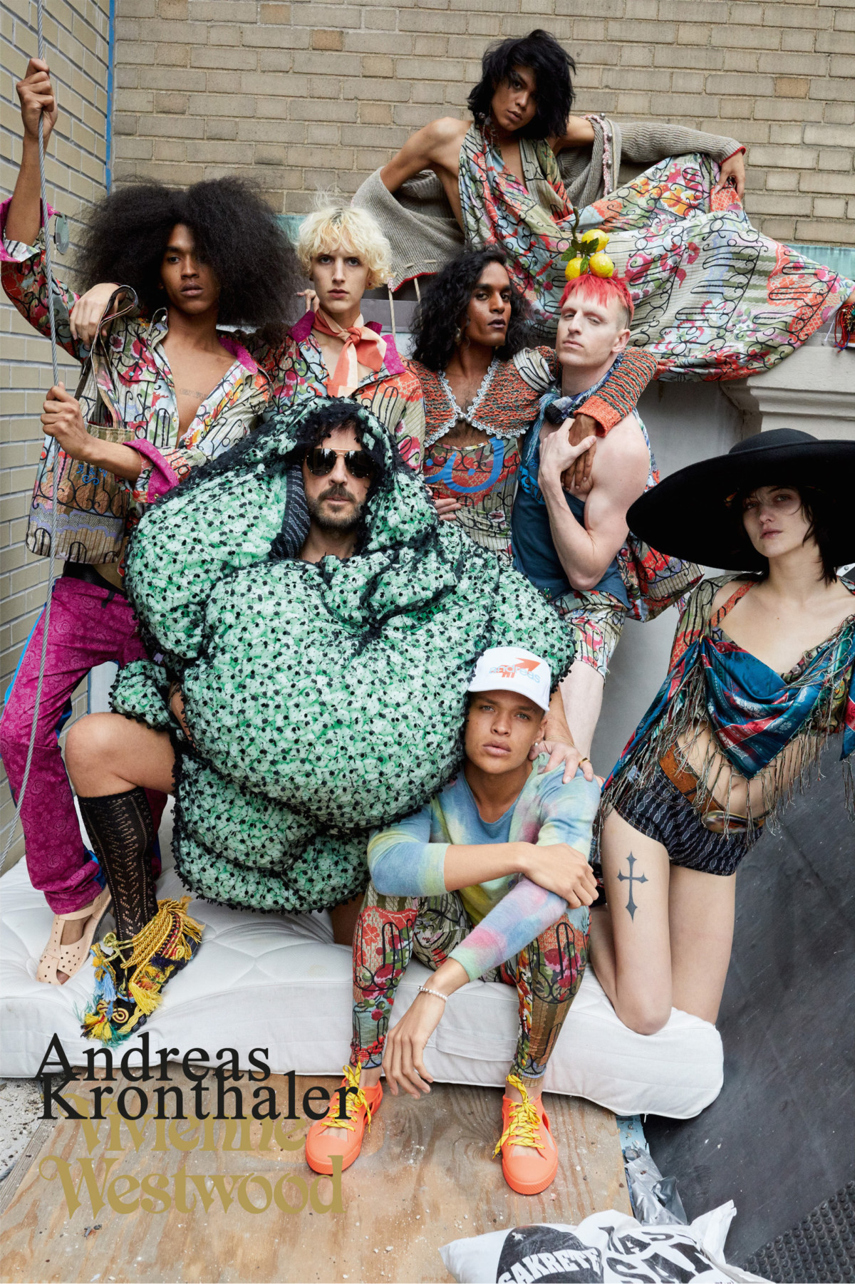VIVIENNE WESWOOD FEATURES NY CLUB KIDS IN ITS NEW CAMPAIGN