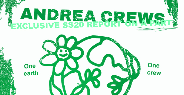 SHOW : ANDREA CREWS EXCLUSIVE REPORT