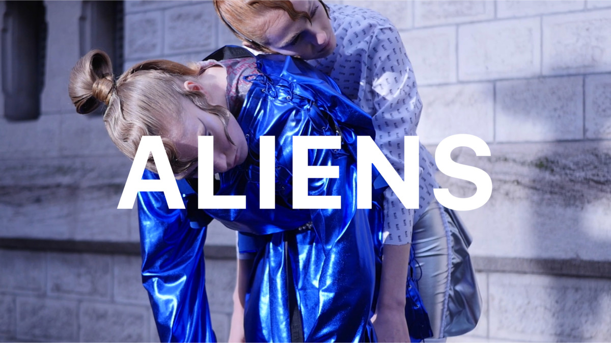 ALIENS – Fashion short movie