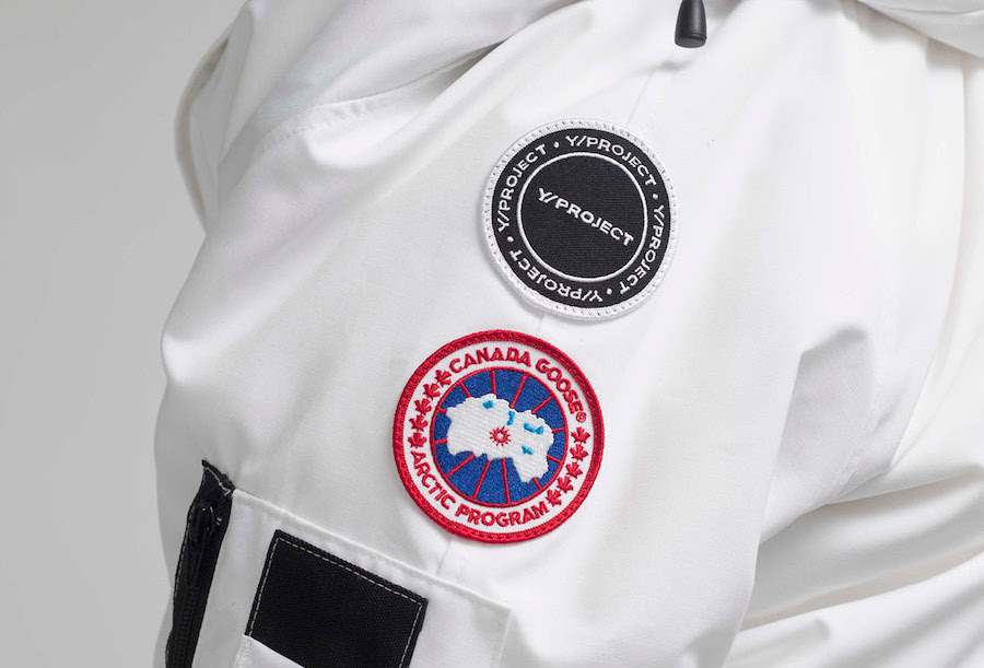 DISCLOSURE : CANADA GOOSE X Y/PROJECT AW20