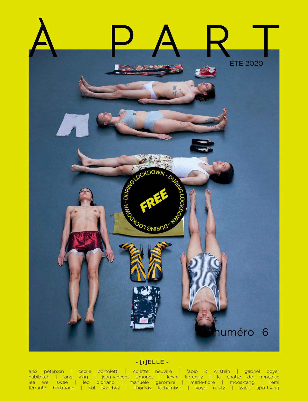 DISCLOSURE : À PART mag n°6: [i]ELLE is ONLINE FOR FREE!