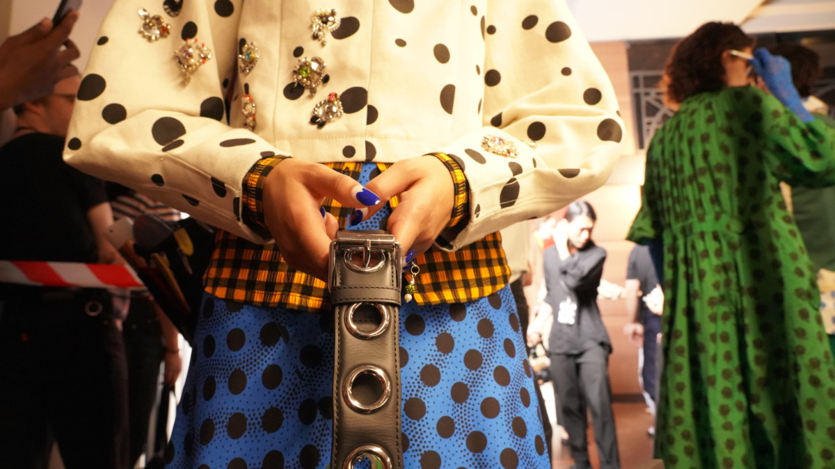 BACKSTAGES : KENZO, EXCLUSIVE MPFW REPORT FOR À PART
