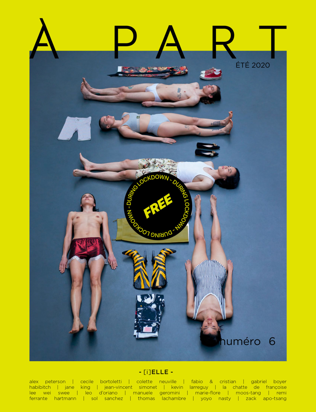 DISCLOSURE : À PART mag n°6: [i]ELLE is ONLINE FOR FREE!